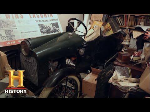 American Pickers: Mega Bucks For Ultra Rare Cycle Car (Season 11) | History