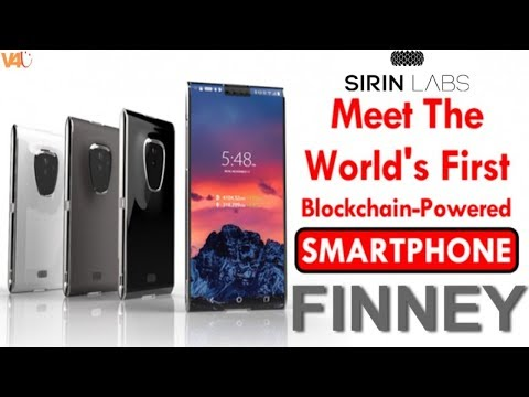 Meet FINNEY - The World's First Blockchain Smartphone Made by Sirin Labs