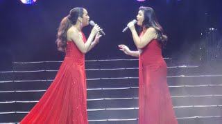 Regine Velasquez with Anton Diva at Shine concert sing Araw Gabi and On The Wings of Love