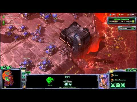 Let's Play Starcraft 2 Wings of Liberty [Part 5] Minerals