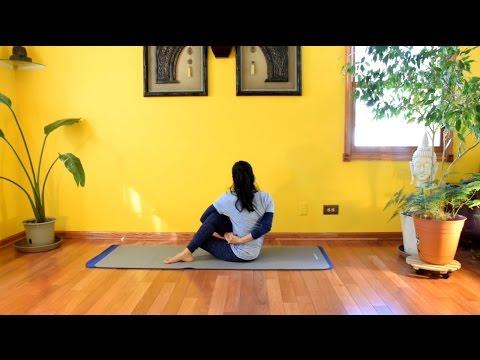 Seated Yoga Poses (1) - Daily Yoga with Vidya Nahar - 12
