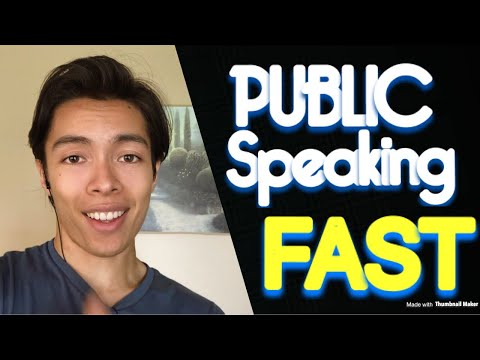 How To Be Better At Public Speaking