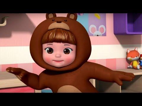 Песенка про трех веселых мишек - Консуни песенка 12 - Three LIttle Bears - Kids Cartoon - зарядка
