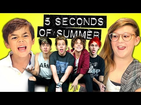 KIDS REACT TO 5 SECONDS OF SUMMER