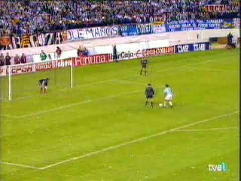 Real Zaragoza campeón de la copa del Rey 1994