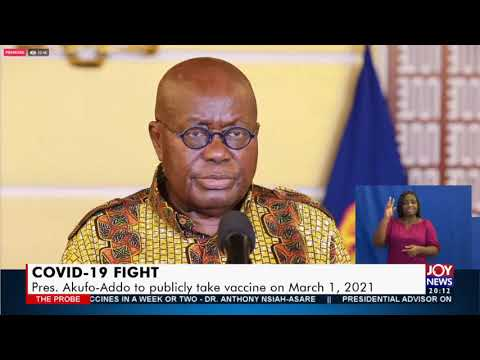 COVID-19 Vaccine Roll Out: Facts versus Myths – The Probe on JoyNews (28-1-21)
