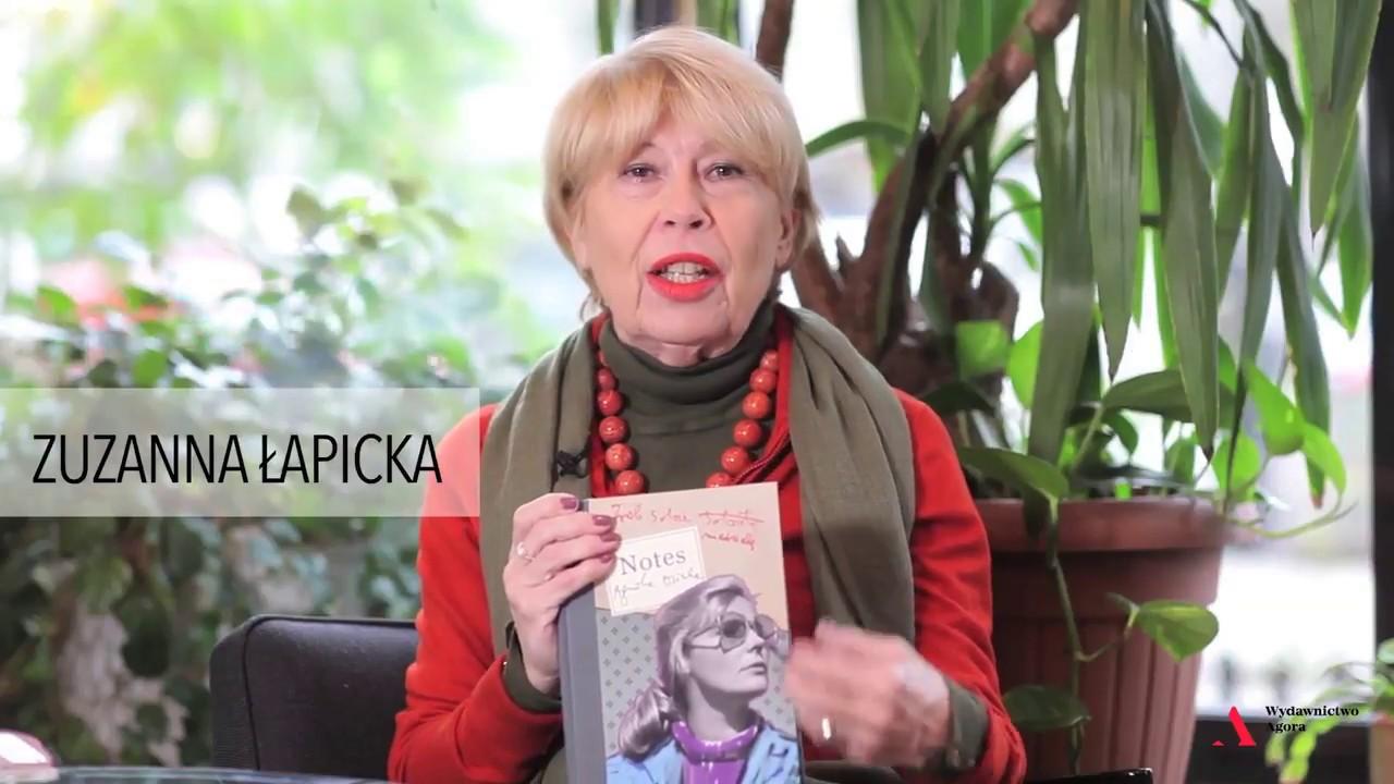 Zuzanna Łapicka o Notesie artystycznym Agnieszki Osieckiej