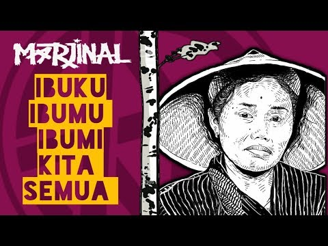 Marjinal —  Ibu (Lyrics)