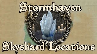 ESO: Stormhaven All Skyshard Locations (updated for Tamriel Unlimited)