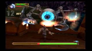 Maximo Vs. Army Of Zin walkthrough (PS2) level 8: Cyclocks!! (LIKE A BOSS!!!)