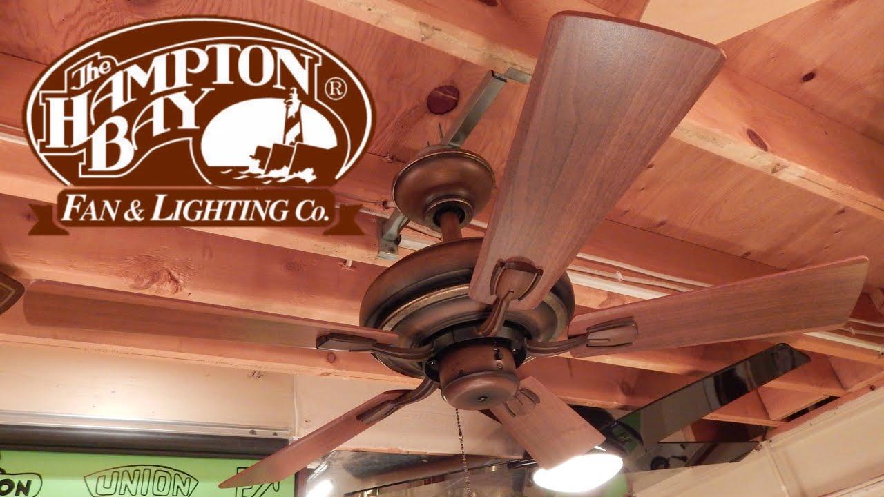 hampton bay babiberre ceiling fan 1080p hd remake youtube