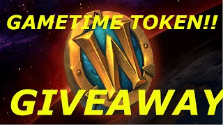 closed wow 6 2 3 gametime token giveaway channel contest gold farming guides