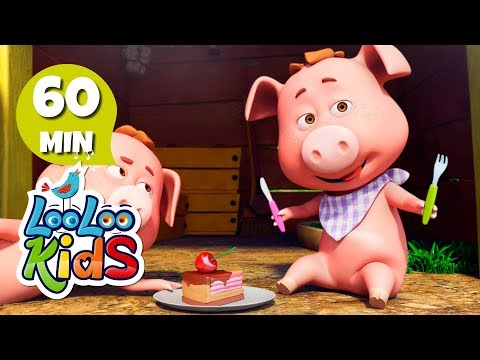 This Little Piggy  Learn English with Songs for Children  LooLoo Kids