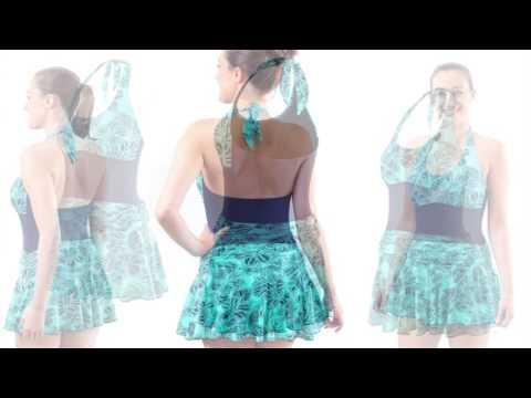 Kes-vir Ladies Skirt Swimsuit 3