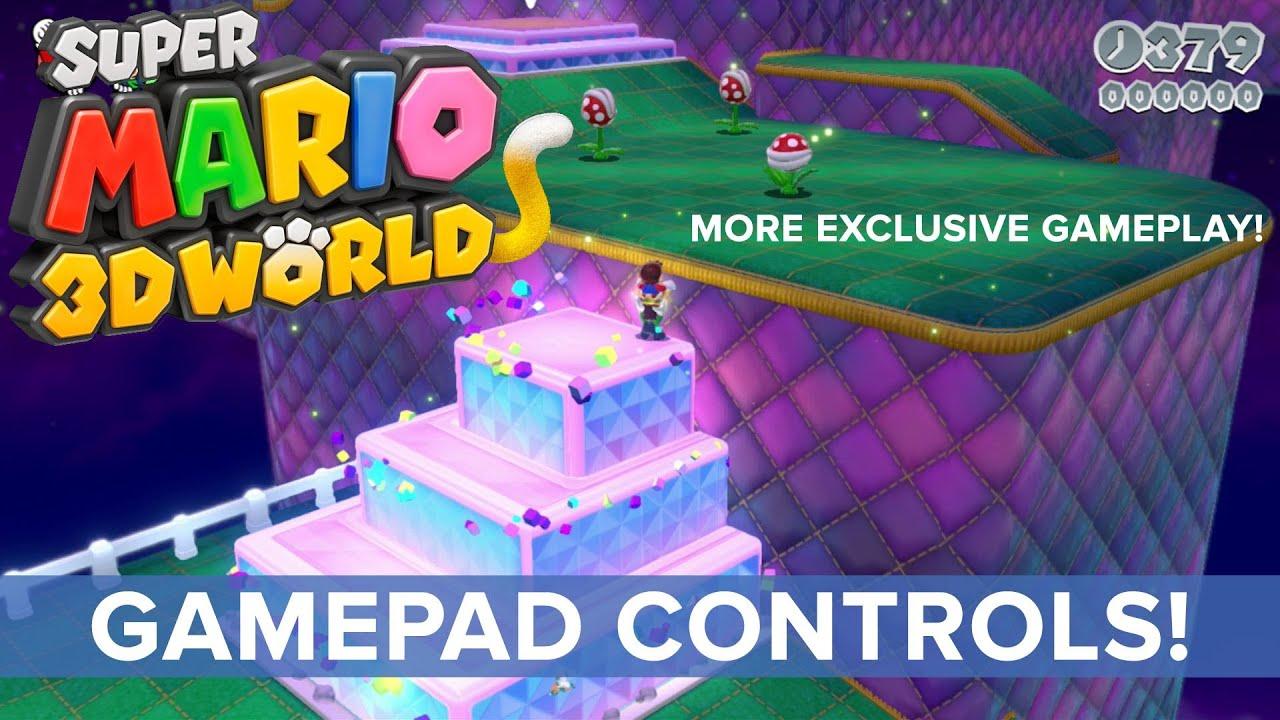 подборка новых скриншотов и видео по Super Mario 3d World