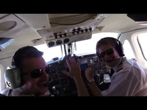 Test Flight St Helena   September 2015   Cockpit Footage