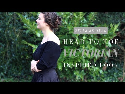 Victorian Inspired Head To Toe Look | Style Revival: 1840s