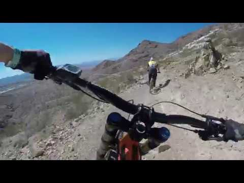 Bootleg Canyon eMTB Downhill with Haibike