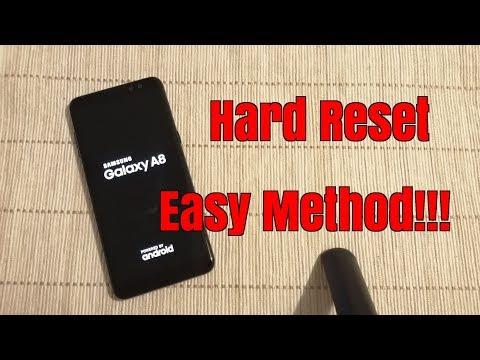 Hard Reset Samsung A8 2018 (SM-A530F). Unlock Pin,pattern,password Lock.