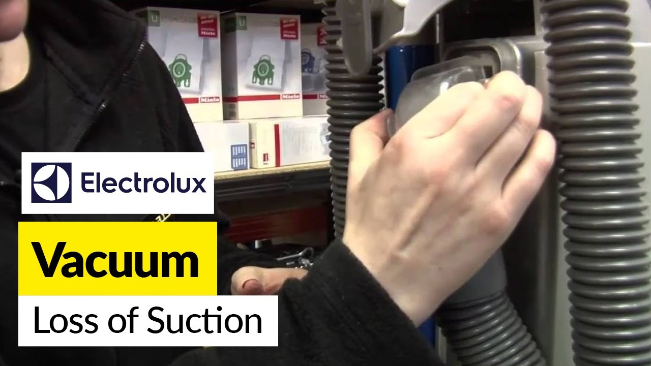 How To Fix Loss Of Suction In An Electrolux Bagless Vacuum Cleaner