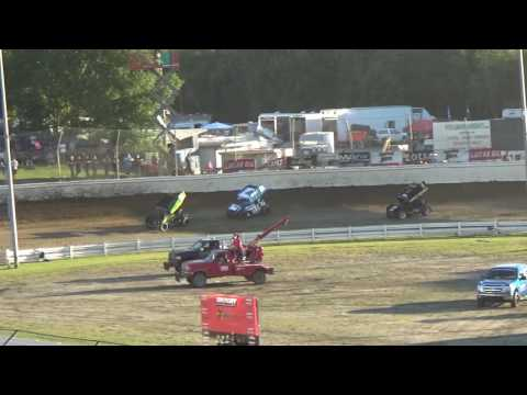 Skagit Speedway, Dirt Cup 2017, Night 3, ASCS National Series B-Main 1 and 2