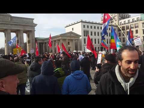 Internationaler Aktionstag Berlin 23.2. #HandsOffVenezuela