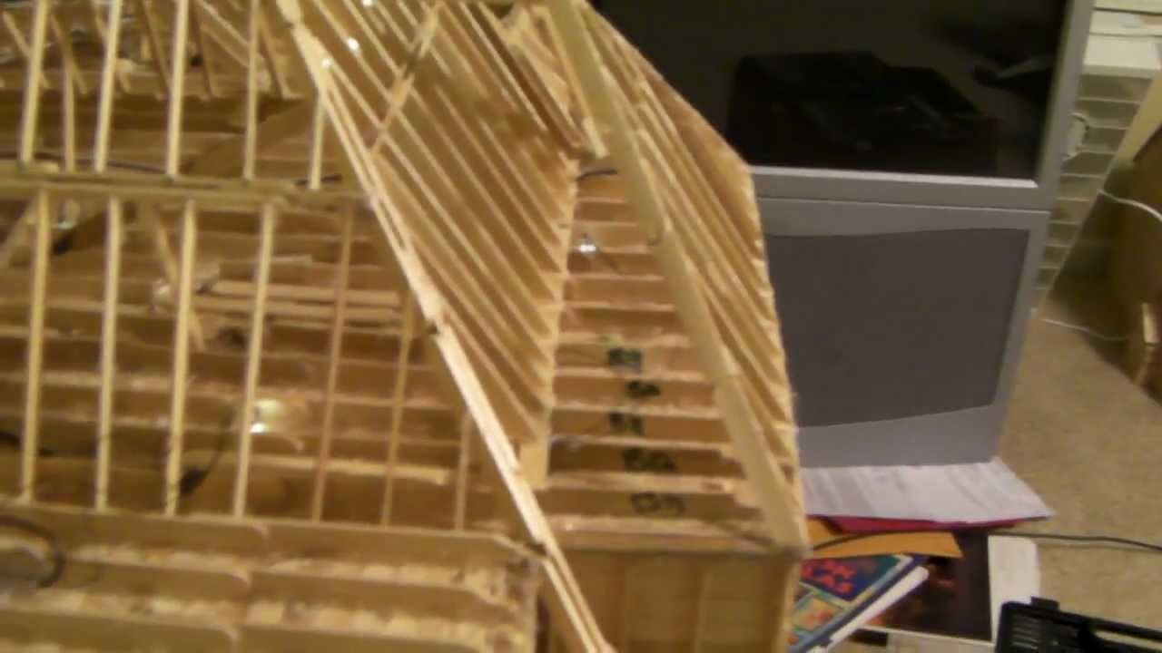21 Building Popsicle Stick House Youtube