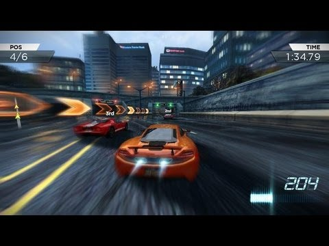 Samsung Galaxy W I8150 Playing Need For Speed MostWanted v1.0.46 (Updated)
