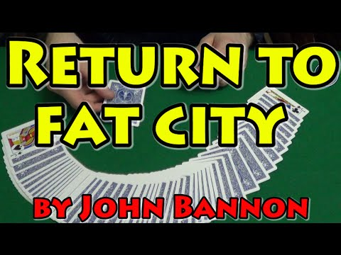 Card MAGIC TRICKS Tutorial - RETURN TO FAT CITY. Magic CARD TRICKS Tutorial 2016 cardtrickstutorial
