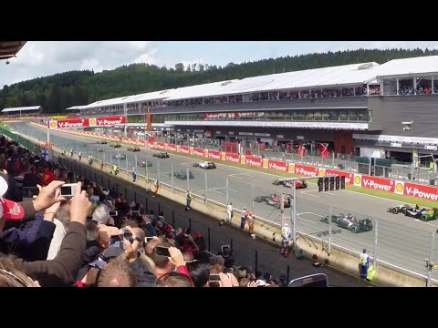 Where is the belgium grand prix spa