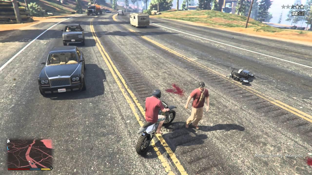 Hai anh em chơi GTA 5 #2 - Dân chơi thích chạy ngược chiều
