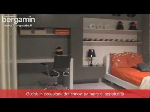 Bergamin Arredamenti Camere Da Letto.Bergamin Arredamenti Camerette Video Tour Youtube
