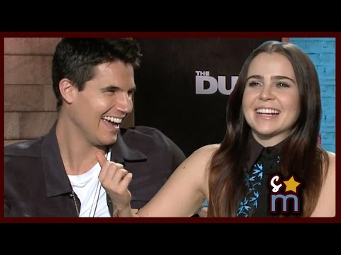 Taylor Swift  Pick Up Lines w Mae Whitman & Robbie Amell  THE DUFF