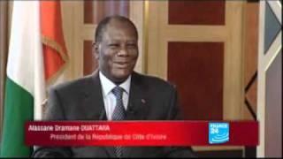Interview: Ouattara se monque des Ivoiriens et Africains