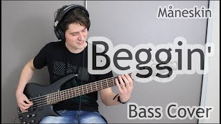 Måneskin - Beggin' (Bass Cover With Tab)