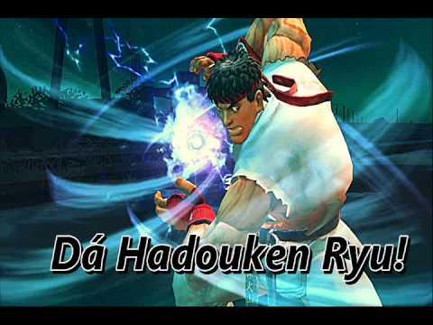 Dá Hadouken Ryu!