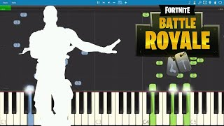 Fortnite Dances - Flapper Piano Tutorial - How to play Flapper Dance
