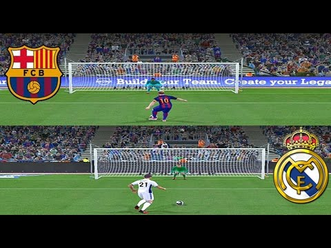FC Barcelona vs Real Madrid LA MEJOR TANDA DE PENALTIS!!!! EPIC!! PES 2017 Liga master #19