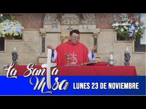 Misa De Hoy, Lunes 23 De Noviembre De 2020 - Cosmovision