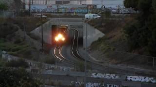 Metrolink #372 - Along The I-10 Freeway - 10/9/10