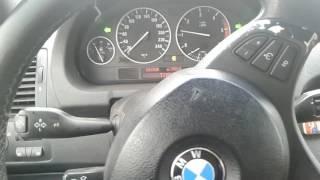 Последствия бокового удара о спящий полицейский BMW X5