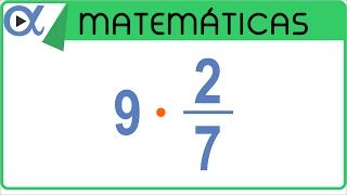 Multiplicación de una fracción por un entero