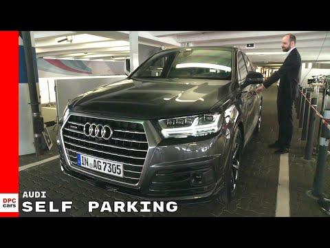 Audi Autonomous Self parking Demonstration