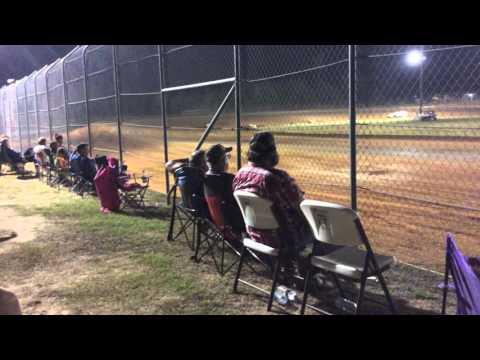 B-Main Modifieds Ark La Tex Speedway 9-7-15