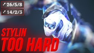 LL Stylish - STYLIN TOO HARD - UNRANKED TO CHALLENGER