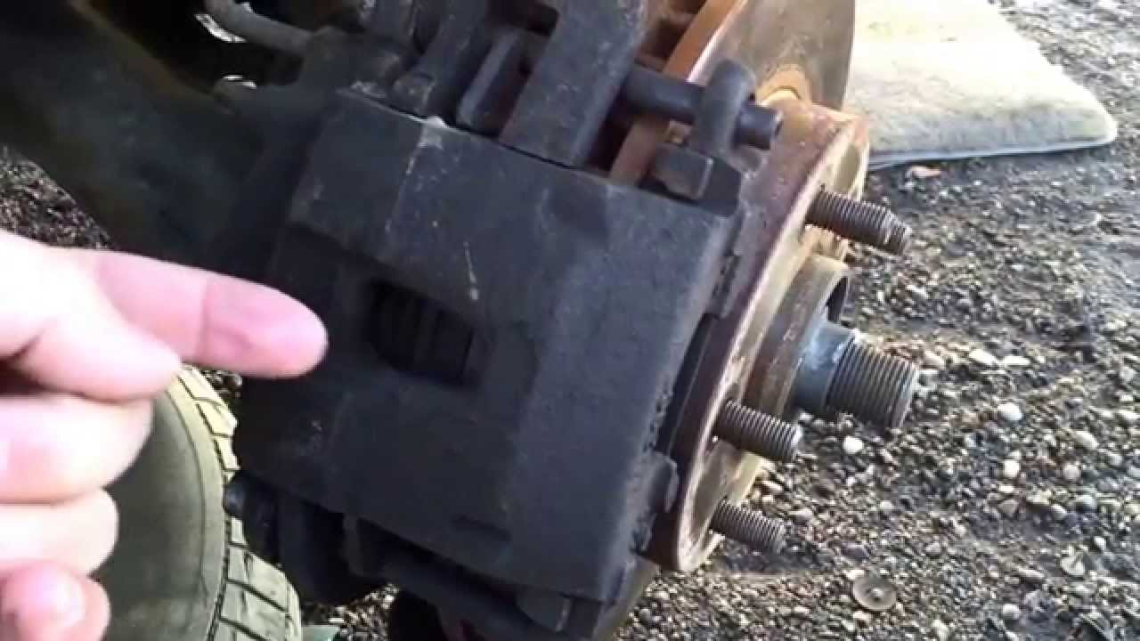 Chevy Blazer Front Brake Replacement - YouTube