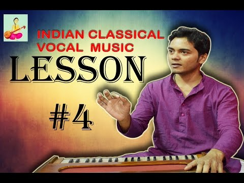 Learn Indian classical music vocal singing Lesson #4 Holding nodes 2