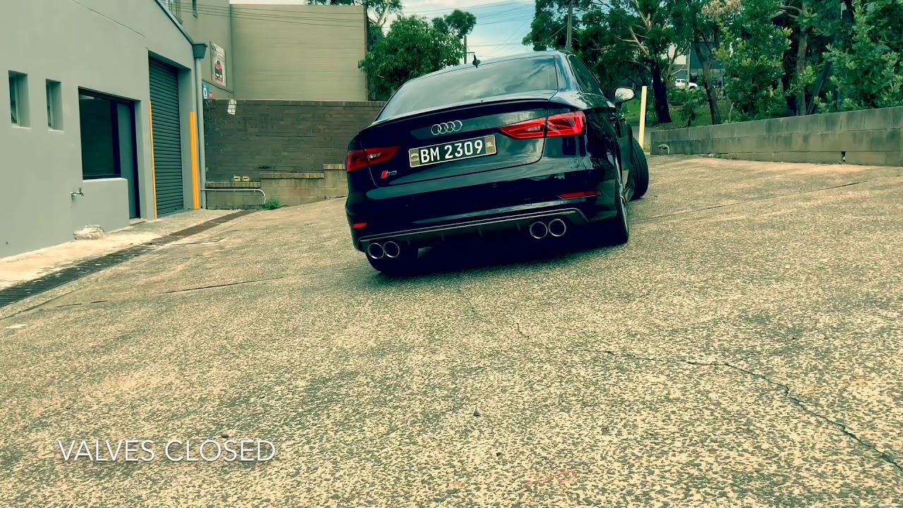 FI exhaust sound sample - Audi S3 8V - YouTube