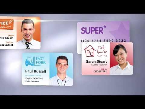 Plastic card printer - Digital ID