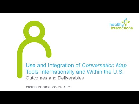Conversation Map Tools—Delivering Diabetes Self-Management Education and Support around the World
